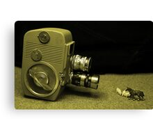 a Clockwork Camera Canvas Print
