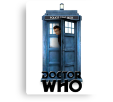 David Tennant Poster Canvas Print