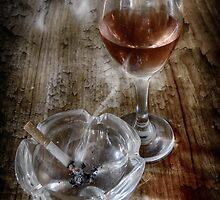 SMOKING WINE by Rob  Toombs