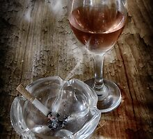SMOKING WINE by Rob  Toombs