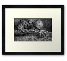 THE SICKNESS Framed Print