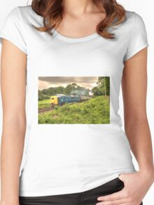 Deltic in Somerset Women's Fitted Scoop T-Shirt