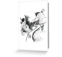 Traveling Observers  Greeting Card