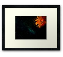 Rusty Universe Framed Print