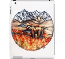 Denali wilderness iPad Case/Skin