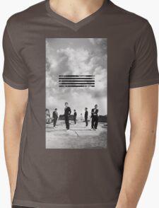 BIG BANG _1 Mens V-Neck T-Shirt