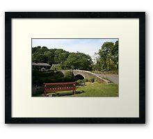 Village Bridge Framed Print