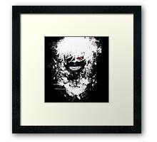 Tokyo Ghoul - The Eyepatch Ghoul (Black Version) Framed Print