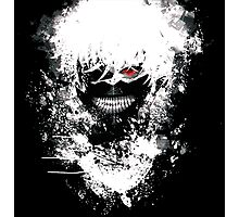 Tokyo Ghoul - The Eyepatch Ghoul (Black Version) Photographic Print