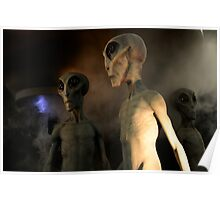 Roswell New Mexico December 21 2012 Visiting Hour Poster
