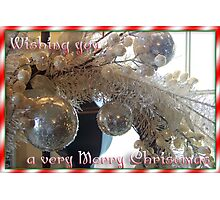 Very Merry Christmas Photographic Print