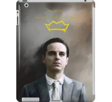 Moriarty portrait iPad Case/Skin