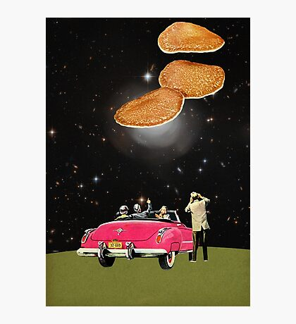 Unidentified flying object Photographic Print