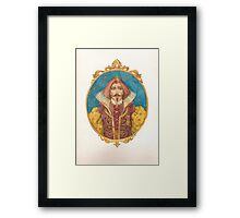 His Highness Framed Print
