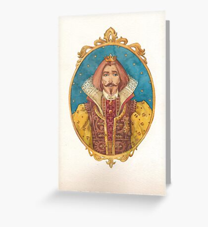 His Highness Greeting Card