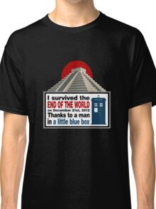 The Doctor saved us Classic T-Shirt
