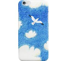 Watercolor sky iPhone Case/Skin