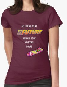 Future Gifts: Hoverboard Womens Fitted T-Shirt
