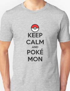 Keep Calm and Pokémon T-Shirt