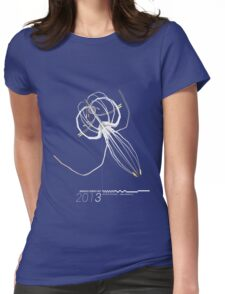 Radiata Series 001-2013 (gray) Womens Fitted T-Shirt