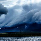 Icelandic Cloud Scape by Sue Ratcliffe