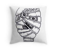 Zombie Apocalypse kanye Throw Pillow