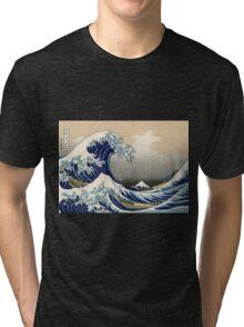 Great Wave Tri-blend T-Shirt