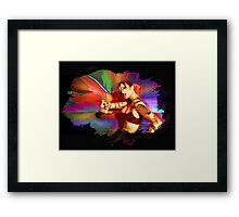 Imaging / Gypsy Framed Print