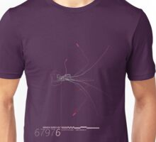 Radiata Series 001-67976 (x) (purple) Unisex T-Shirt
