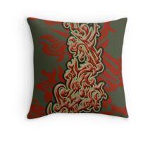 Dragons Roar Throw Pillow