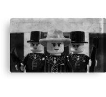 Lego Gangster Noir Canvas Print