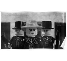 Lego Gangster Noir Poster
