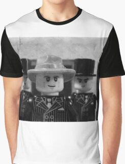 Lego Gangster Noir Graphic T-Shirt