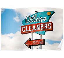 Village Cleaners Poster