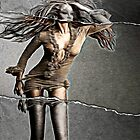 Tyra Triptych  by leapdaybride