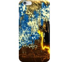 light trail abstraction 003 iPhone Case/Skin