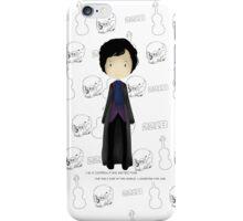 cute SHERLOCK * Sherlock Holmes * iPhone Case/Skin