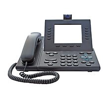 VoIP Phone with Blank Display by MarkUK97