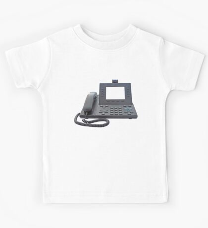 VoIP Phone with Blank Display Kids Tee