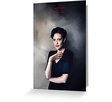 Irene Adler portrait Greeting Card