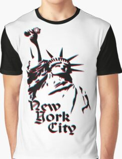 NYC Street Artist Graphic T-Shirt