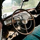 Interior of a Classic Car by Sam Scholes