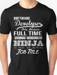 Software Developer T-Shirt