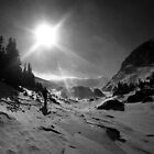 Winter on the Divide by Paul Magnanti