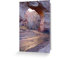 Coyote Natural Bridge Greeting Card