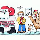 Happy Xmas 2012 by Kerina Strevens