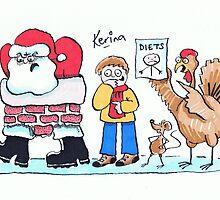 Happy Xmas 2012 by Kerina Strevens