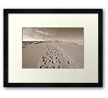 Forty Mile Ridge Framed Print