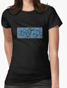 Fractal interior Womens Fitted T-Shirt