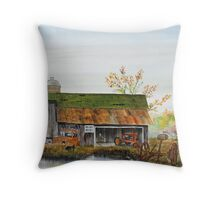 Reflections From The Past Throw Pillow